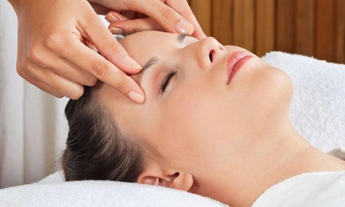 massagem em barras de acesso