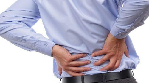 Massagem para dores nas costas