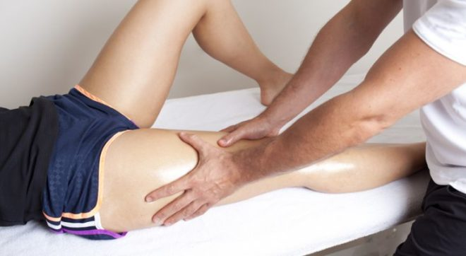 massagem pós corrida